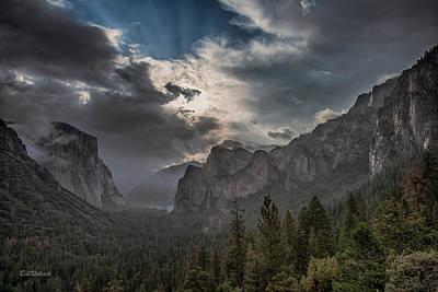 Yosemite National Park Photograph - Clouds And Light by Bill Roberts