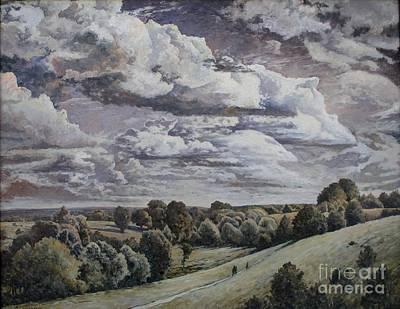 Clouds Print by Andrey Soldatenko
