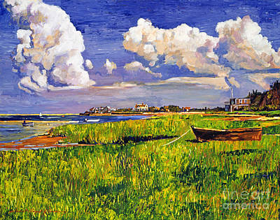 Cape Cod Painting - Clouds by David Lloyd Glover