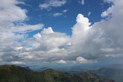 Clouds, Karuna Farm Print by Jennifer Mazzucco