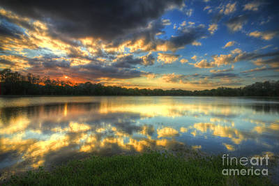 Photograph - Clouds On Fire by Rick Mann