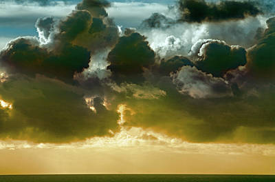 Clouds Over El Pacifico Print by Daniel Furon