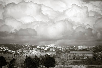 Raining Photograph - Clouds Rolling In 1 by Marilyn Hunt