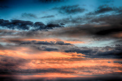 Denver Mixed Media - Cloudscape 2 by Angelina Vick