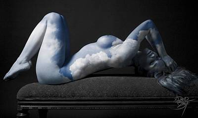 Cloudscape Print by David Bollt