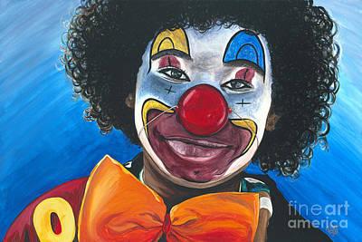 Klown Painting - Clowning Around by Patty Vicknair