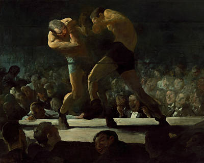 Boxer Painting - Club Night by George Bellows
