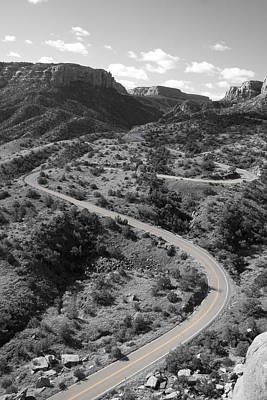 Somewhere Higher Photograph - Cnm Switchbacks by Dylan Punke