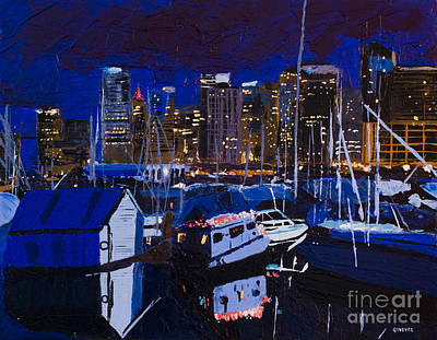 Coal Harbour Original by Ginevre Smith