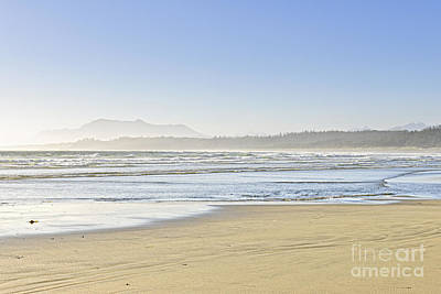 British Columbia Photograph - Coast Of Pacific Ocean On Vancouver Island by Elena Elisseeva