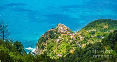Panorama Photograph - Coastal Downhill by JR Photography