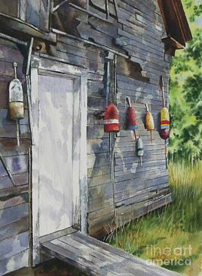 Painting - Coastal Shanty by Karol Wyckoff