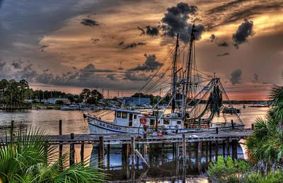 Tallahassee Photograph - Coastal Sunset by Alex Owen