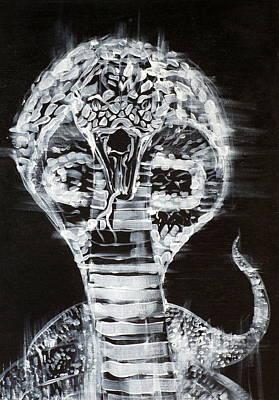 Cobra Painting - Cobra by Fabrizio Cassetta