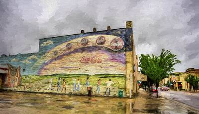 The Main Photograph - Coca-cola And Small Town Usa by JC Findley