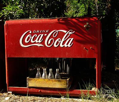 Coke Photograph - Coca-cola by Carol Milisen