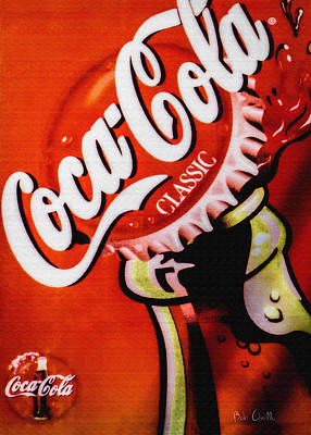 Coca Cola Sign Photograph - Coca Cola Classic by Bob Orsillo