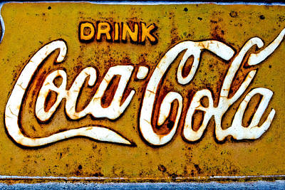 Coca-cola Sign Photograph - Coca-cola by Colleen Kammerer