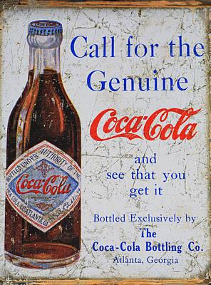 Coca-cola Sign Photograph - Coca Cola by Donna Kennedy