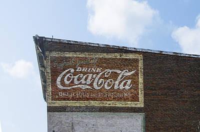 Coca-cola Sign Photograph - Coca Cola Sign - Front Royal Virginia by Bill Cannon
