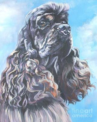 Cocker Spaniel 2 Print by Lee Ann Shepard