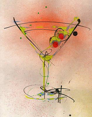 Cocktail #1 Original by Ryan  Hopkins