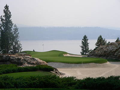 Golf Photograph - Coeur D Alene by Peter  McIntosh
