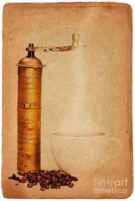Coffee Print by Michal Boubin