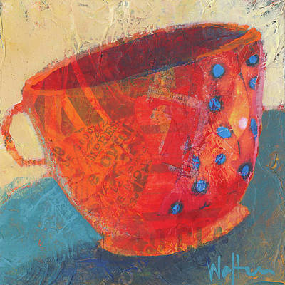 Painting - Coffee Please by Shelli Walters