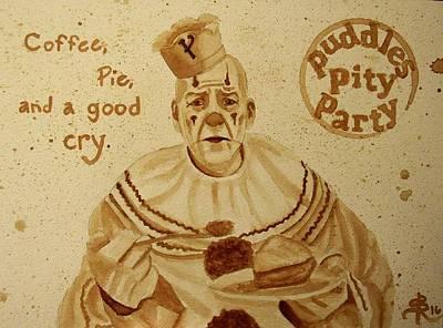 Pity Mixed Media - Coffee by SarahjewelAZ SarahjewelAZ