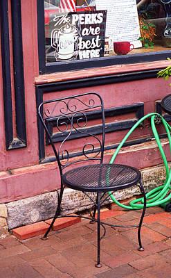 Jonesborough Tennessee - Coffee Shop Print by Frank Romeo