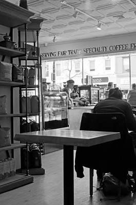 Coffee Shop Print by Randy