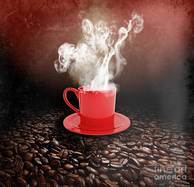 Coffee Print by Stefano Senise