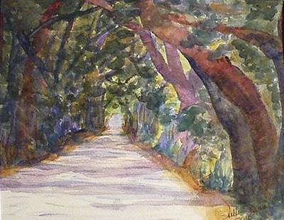 Coffin Point Road Print by Stella Schaefer