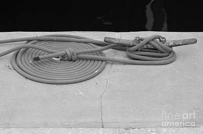 Coiled Rope Print by Robert Wilder Jr