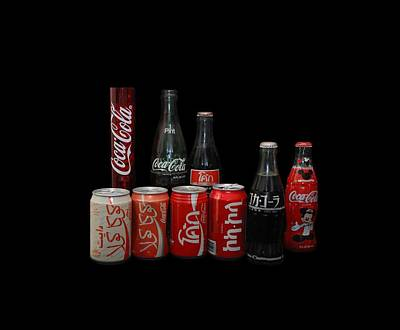 Coke From Around The World Original by Rob Hans