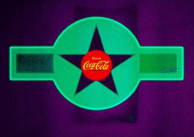 Coke Painting - Coke N Lime by Charles Stuart