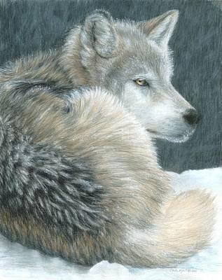 Cold Evening Print by Carla Kurt
