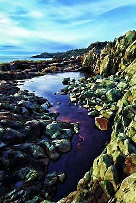 Coastal Maine Photograph - Cold Morning At Cutler Coast by Bill Caldwell -        ABeautifulSky Photography