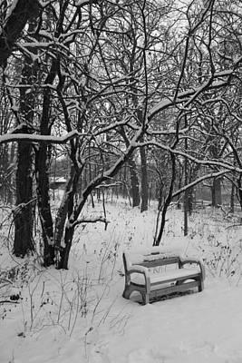 Cold Seat Print by Lauri Novak