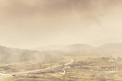 Parks Holidays Photograph - Cold Winter Landscape On Cradle Mountain Tasmania by Jorgo Photography - Wall Art Gallery