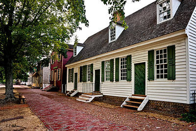 Colonial Times Print by Christopher Holmes