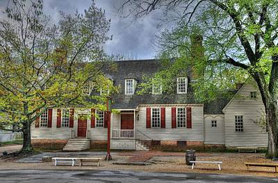 Window Bench Photograph - Colonial Williamsburg  2 by Todd Hostetter