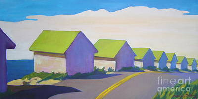 Cape Cod Mass Painting - Colonized by Patricia A Griffin