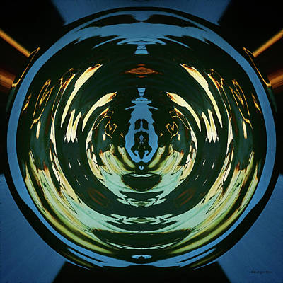 Chroma Digital Art - Color Abstraction Lxx by David Gordon