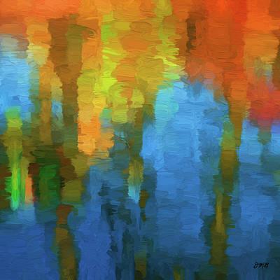 Chroma Digital Art - Color Abstraction Xxxi by David Gordon