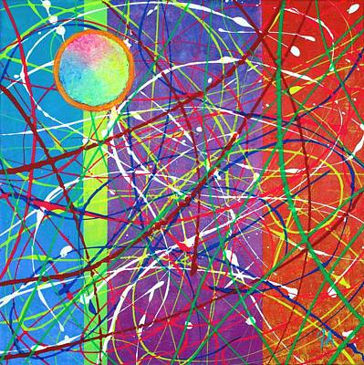 Color Fervor Print by Jeremy Aiyadurai