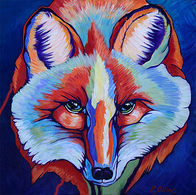 Color Me Wild II Original by Rose Collins