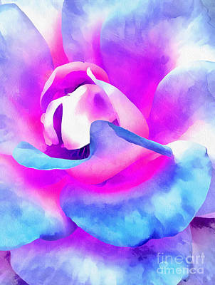 Colorful Roses Photograph - Color Of Charisma by Krissy Katsimbras