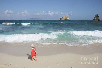 Phthalo Green Photograph - Color On The Beach  by Clay Cofer